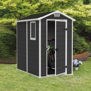 manor 4x6 garden shed